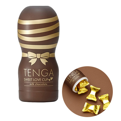 TENGA SWEET LOVE CUP milk チョコレート